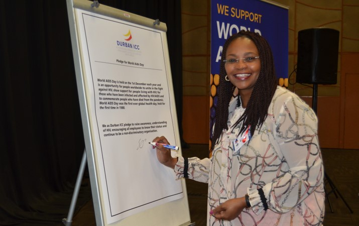 Durban ICC unite to fight HIV stigma and denounces violence against women and children
