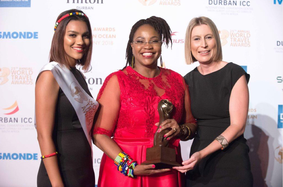 Durban ICC scoops World Travel Award for the 17th time!